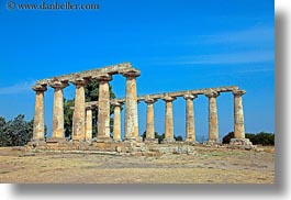 architectural ruins, buildings, europe, horizontal, italy, matera, palatine, pillars, puglia, structures, tavole, photograph
