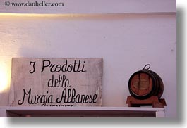 artifacts, barrels, europe, horizontal, italy, masseria murgia albanese, noci, puglia, signs, photograph