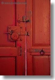 artifacts, doors, europe, italy, masseria murgia albanese, noci, old, puglia, red, vertical, photograph