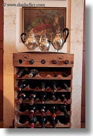 artifacts, europe, holders, italy, masseria murgia albanese, noci, puglia, vertical, wines, wooden, photograph