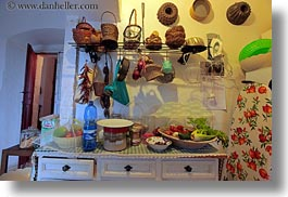 europe, horizontal, houses, italy, kitchen, masseria murgia albanese, noci, puglia, photograph