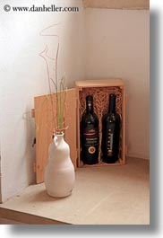 bandino masseria, bottles, europe, italy, otranto, puglia, red, two, vertical, wines, photograph