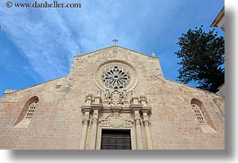 churches, europe, facades, horizontal, italy, otranto, puglia, photograph