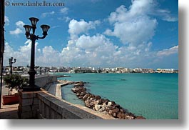 clouds, cumulus, europe, harbor, horizontal, italy, otranto, puglia, photograph