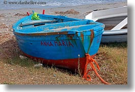 blues, boats, europe, horizontal, italy, porticciolo, puglia, photograph
