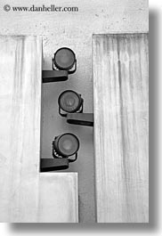 abstracts, black and white, europe, italy, puglia, spotlights, taranto, threes, vertical, photograph