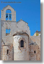 buildings, churches, europe, italy, puglia, templars, trani, vertical, photograph