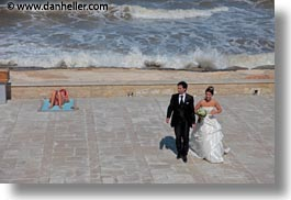 couples, europe, horizontal, italy, people, puglia, sunbathing, trani, wedding, womens, photograph