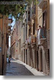 boys, europe, italy, narrow, puglia, streets, trani, vertical, photograph