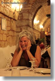 dining, emotions, europe, evie, evie sheppard, grey, hair, italy, people, puglia, smiles, tourists, vertical, womens, photograph