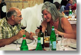 dining, emotions, europe, evie, evie sheppard, grey, hair, horizontal, italy, men, people, puglia, smiles, tourists, womens, photograph
