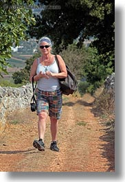 bandana, clothes, europe, evie, evie sheppard, hiking, italy, people, puglia, sunglasses, tourists, vertical, womens, photograph