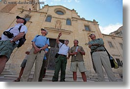 churches, europe, groups, horizontal, italy, puglia, tourists, tours, photograph