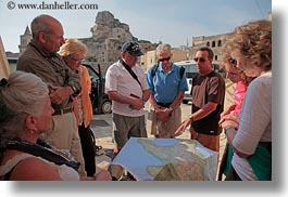 europe, groups, horizontal, italy, map, puglia, tourists, viewing, photograph