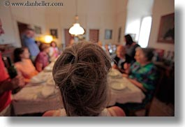 dining, europe, groups, hair, horizontal, italy, puglia, tables, tourists, photograph