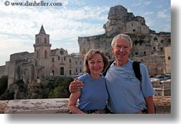 couples, emotions, europe, grey, hair, happy, horizontal, italy, jane, joe, joe jane mc farlane, men, people, puglia, senior citizen, smiles, tourists, womens, photograph