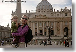 boys, childrens, churches, europe, horizontal, italy, jack and jill, jacks, jills, mothers, people, rome, st peters, toddlers, womens, photograph