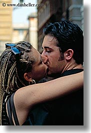 activities, braided, conceptual, europe, hair, italy, kissing, men, people, romantic, rome, vertical, womens, photograph