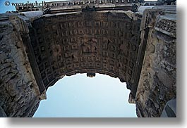 arches, architectural ruins, constantine, europe, horizontal, italy, rome, photograph