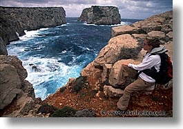 cliffs, europe, horizontal, italy, sardinia, scenics, photograph