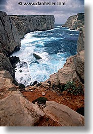 cliffs, europe, italy, sardinia, scenics, vertical, photograph