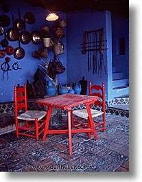 chairs, europe, italy, red, sardinia, su gologone, tables, vertical, photograph