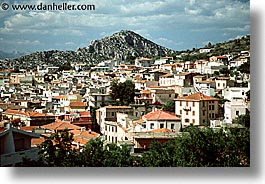 europe, horizontal, italy, sardinia, towns, photograph