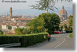 cities, cityscapes, europe, florence, horizontal, italy, pedestrians, tuscany, photograph