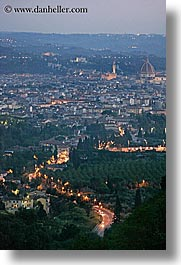 cities, cityscapes, europe, florence, italy, nite, tuscany, vertical, photograph