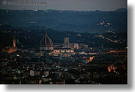 cities, cityscapes, europe, florence, horizontal, italy, nite, tuscany, photograph