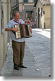 accordion, europe, florence, italy, men, music, musicians, people, tuscany, vertical, photograph