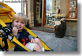 boys, childrens, europe, florence, happy, horizontal, italy, jacks, motorcycles, people, stroller, toddlers, tuscany, photograph