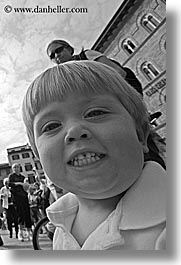 black and white, boys, childrens, europe, florence, happy, italy, jacks, people, smiling, toddlers, tuscany, vertical, photograph
