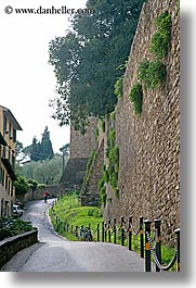 cities, europe, florence, italy, scenics, streets, tuscany, vertical, walls, photograph