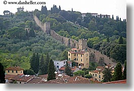 cities, europe, florence, horizontal, italy, scenics, tuscany, walls, photograph