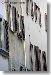 cellphone, europe, florence, italy, men, tuscany, vertical, windows, photograph