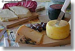 cheese, europe, foods, horizontal, italy, knife, tuscany, photograph