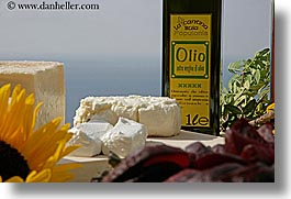 cheese, europe, foods, horizontal, italy, olive oil, picnic, tuscany, photograph