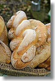 bread, europe, foods, italy, tuscany, twisted, vertical, photograph
