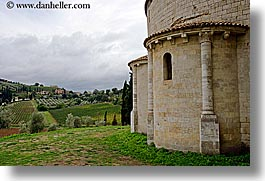 abbey, churches, europe, horizontal, italy, monestaries, religious, sant antimo, sant atinimo, tuscany, photograph