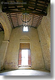 churches, doors, europe, italy, monestaries, pieve di st leonardo, tuscany, vertical, photograph