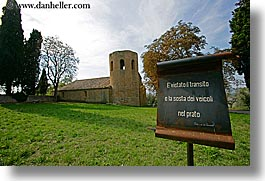 churches, europe, horizontal, italy, monestaries, pieve di st leonardo, tuscany, photograph