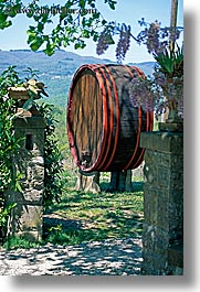 barrels, casks, europe, italy, scenics, tuscany, vertical, wines, photograph