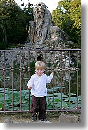 apennine, boys, childrens, demidoff park, europe, italy, jacks, statues, stones, toddlers, towns, tuscany, vertical, photograph