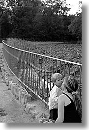 black and white, boys, childrens, demidoff park, europe, italy, jacks, jills, kissing, mothers, toddlers, towns, tuscany, vertical, womens, photograph