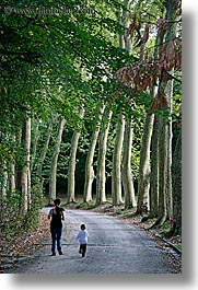 boys, childrens, demidoff park, europe, italy, jacks, mothers, roads, streets, toddlers, towns, trees, tuscany, vertical, womens, photograph