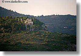 buildings, cliffs, europe, horizontal, houses, isola giglio, italy, towns, tuscany, photograph