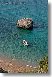 beaches, boats, europe, isola giglio, italy, ocean, overlook, scenics, towns, tuscany, vertical, photograph