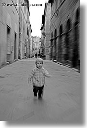 black and white, boys, childrens, europe, italy, jacks, montalcino, toddlers, towns, tuscany, vertical, photograph