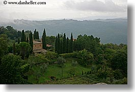europe, horizontal, italy, montalcino, overlook, scenics, towns, tuscany, photograph